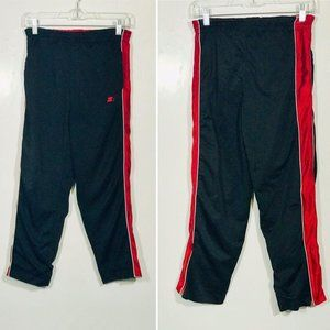 Starter Black Red Pants Insulated Reversible Boys